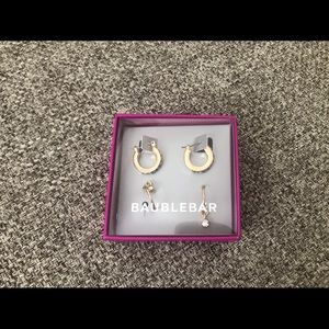 Baublebar Hoops Earrings Set